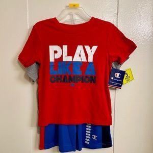 Boys Champion Athleticwear 3 Piece Set